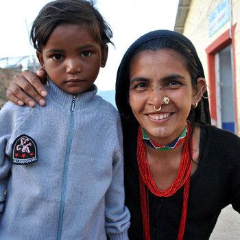 Watsi - A Watsi patient and her mom in Nepal.