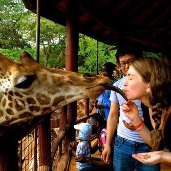 Watsi - Grace, making friends in Tanzania.