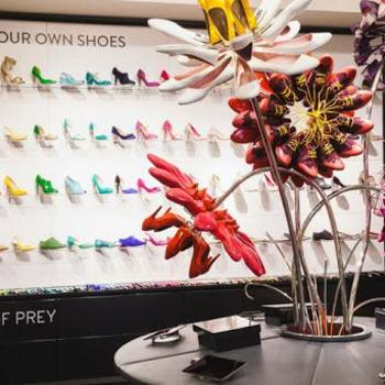 Shoes of Prey - Our shop-in-shop at Nordstrom, complete with iPad shopping interface.