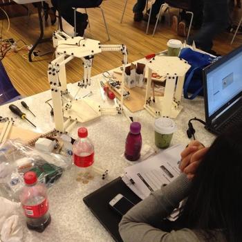 Kaplan Test Prep - Our Robot!