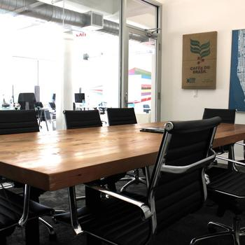Propellr - Breakout space includes a sunny, large board room and kitchen.