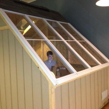 RBI Digital - Log Cabin for a conference room