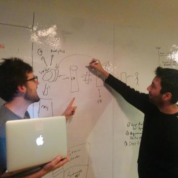 RBI Digital - Whiteboards on walls. Check