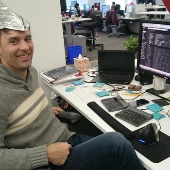 Zoosk - Deploy hat on! All secure.