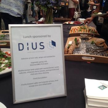 DiUS - Doing our bit... At DiUS, we're heavily involved in the technical community, We sponsor events, our team regularly speak at conferences and we love finding out what's going on in the tech world!