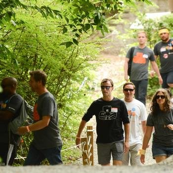 LiveIntent - Life begins outside of your comfort zone. For our 2015 Summer Offsite the company went zip-lining in CT!