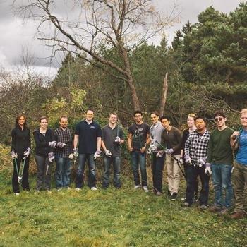Environics Analytics - Volunteering at YMCA Camp Cedar Glen