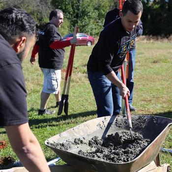 Blackline - volunteering together