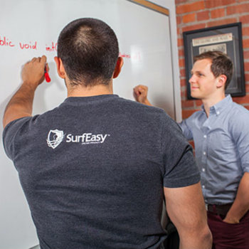 SurfEasy - Supportive team members