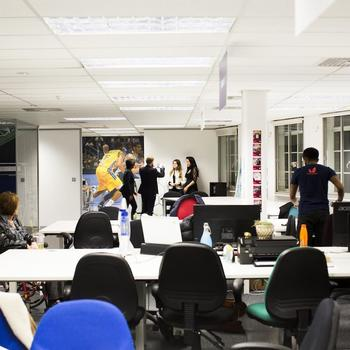 Moteefe - Our cool office space (do you love table tennis?)