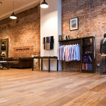 Proper Cloth - We work out of a bright loft in Soho.