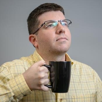 Research Innovations Inc. - James prefers a strong cup of coffee