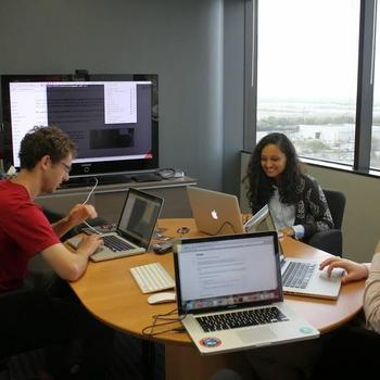 Praxent - Each quarter we hold a Hackathon for team members to learn new skills and explore their interests.