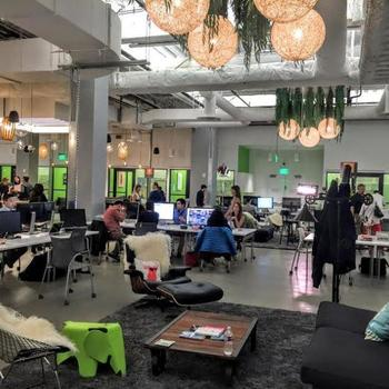 Leapfin - We work out of Bespoke, a co-working space in the heart of SOMA.