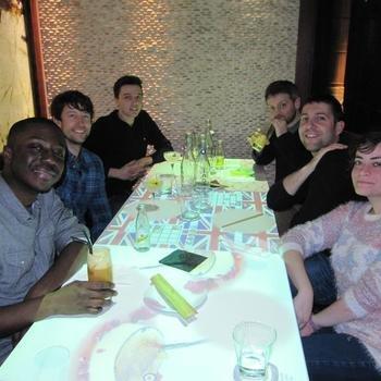 Webigence Ltd - Webigence's 2014 Christmas meal at digital restaurant Inamo.