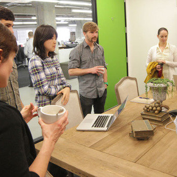 The Climate Corporation - Most teams have daily, morning stand-up meetings. Coffee optional.