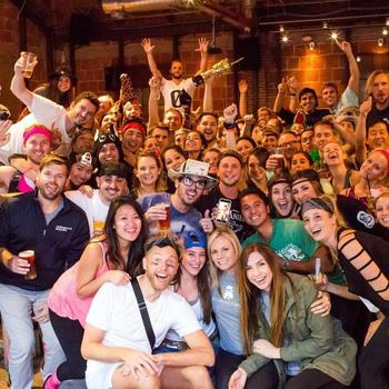 Underground Elephant - UE celebrating another successful and extremely fun Scavenger Hunt!  One of our biggest and favorite events of the year.