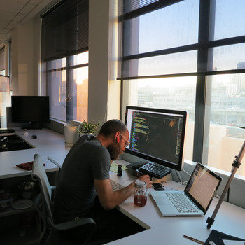 Gliffy - We work in a sunny office with a view