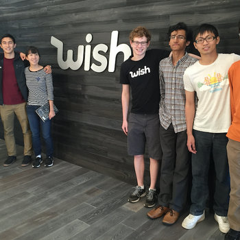 Wish - Our team of engineering interns from Summer 2015