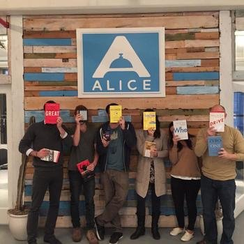 Alice - Book Club tradition with a lot of positive impact on our culture, processes and product.