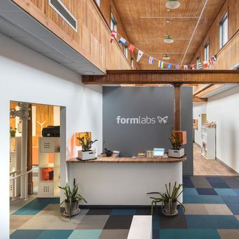Formlabs Inc. - Open office space with plenty of natural light.
