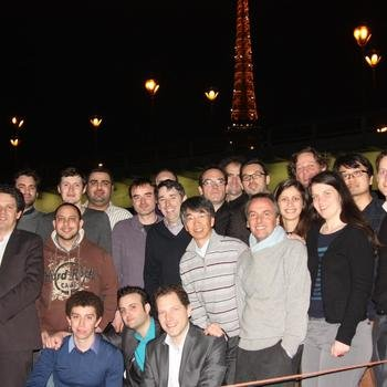 Fujitsu RunMyProcess - Party on a boat in Paris after acquisition of RunMyProcess by Fujitsu