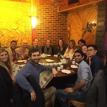 CourseHorse - 2015's Holiday Celebration: Delicious food followed  by shuffleboard