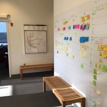 Cornell University - Kanban in the morning