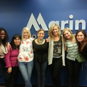 Marin Software - Our awesome office managers from all over the globe.