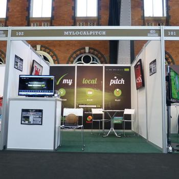 MyLocalPitch - MyLocalPitch at Soccerex sports conference
