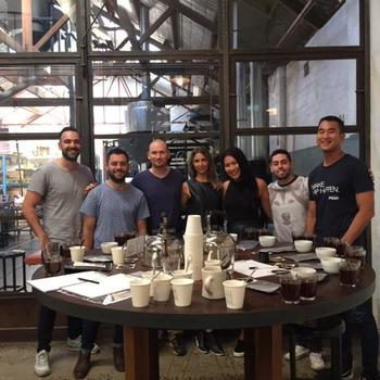 Shippit - Coffee cupping social