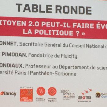 """FLUICITY - Fluicity est invitée par le Point au côtés du Conseil National du Numérique dans le cadre du concours de start up """"Civic Tech"""""""