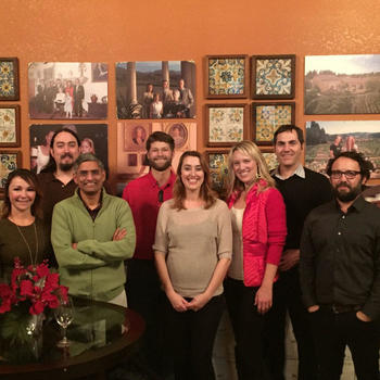 Honeyfund.com, Inc. - Holiday party 2015 outing at a local tasting room.