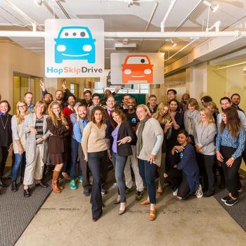 HopSkipDrive - The team!