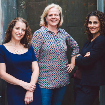 HopSkipDrive - Founders Joanna McFarland, Carolyn Becher, and Janelle McGlothlin