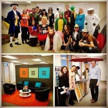 LiquidPlanner - Halloween and inside the office
