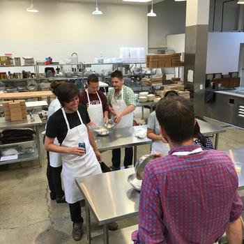 Tally - Group cooking class at VIVE LE TARTE