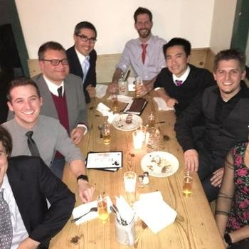 Tally - Getting formal at Suppenküche (a nod to our German co-founder Jasper).
