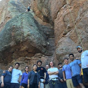 Swift Navigation - Pinnacles Rock Climbing Trip May 2016