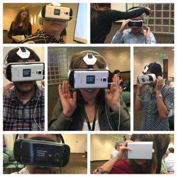 Tribune Publishing - VR demo day!