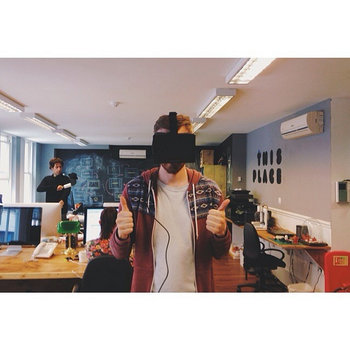 This Place - Us trying out VR in our studio in Shoreditch