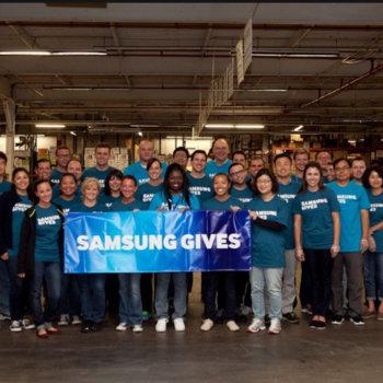 Samsung Electronics America - Samsung Gives