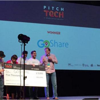 GoShare - GoShare Wins PitchTech