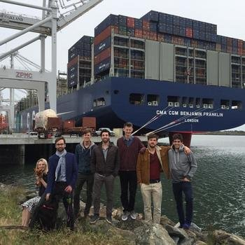 ClearMetal - A visit to the Port of Oakland to see the Benjamin Franklin, the largest cargo ship to ever visit the U.S.