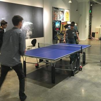 ClearMetal - Team ping pong action