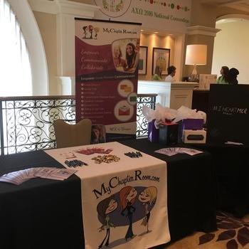 MyChapterRoom - MCR at the Alpha Chi Omega Convention in Orlando FL