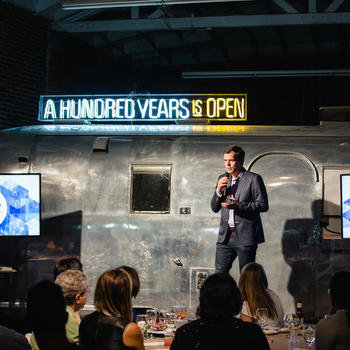 A Hundred Years - Dinner With a Purpose — Our recent event with the Clinton Foundation