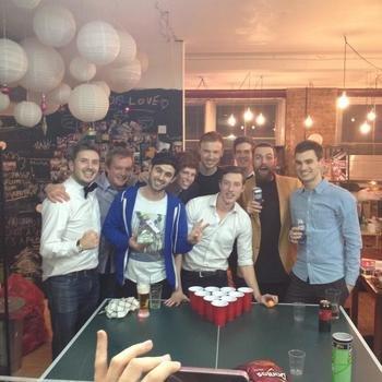 DesignMyNight - Friday night beer pong!