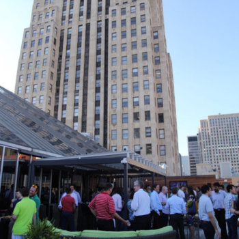 PEAK6 Investments - Taking advantage of our awesome rooftop patio