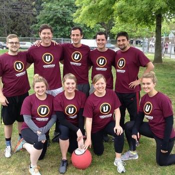 Apptentive - Team Apptentive kickball team!